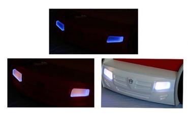 Кровать машина Formula (синяя) изображение 5