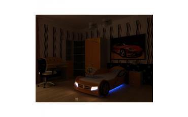 Кровать машина Champion (оранжевая) изображение 8