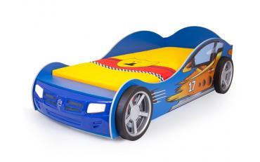 Кровать машина Champion (синяя) изображение 1