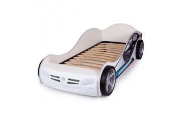 Кровать машина Formula (оранжевая) изображение 6