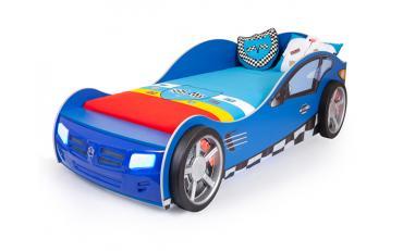 Кровать машина Formula (синяя) изображение 1
