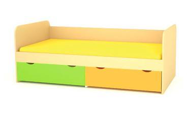 Кровать нижняя малая Выше радуги