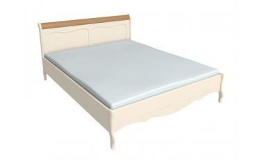Кровать 140*200 Лебо (бежевый воск/браун) 60740