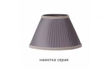 Лампа настольная Севенна беленый дуб с золотой патиной изображение 5