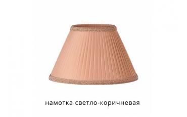 Лампа настольная Канталь коричневый дуб с белой патиной изображение 6