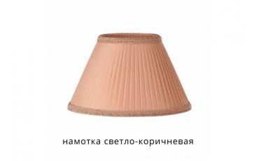 Лампа настольная Лаура бежевый дуб с коричневой патиной изображение 6