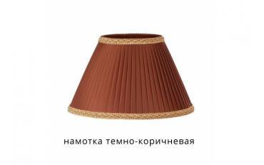 Лампа настольная Канталь коричневый дуб с белой патиной изображение 7