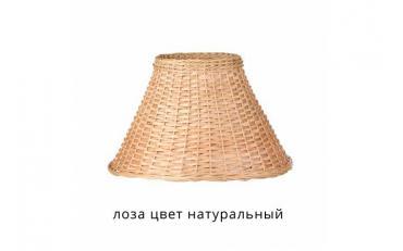 Лампа настольная Лаура бежевый дуб с коричневой патиной изображение 8