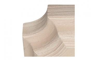 Бра Люберон основание квадрат бежевый ясень с коричневой патиной изображение 3