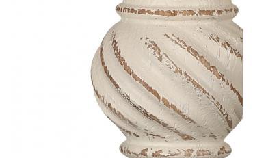Бра Люберон основание круглое бежевый ясень искусственное старение изображение 2