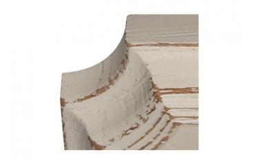Бра Люберон основание квадрат бежевый ясень искусственное старение изображение 3