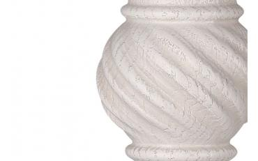 Бра Люберон основание квадрат белый ясень с серой патиной изображение 2