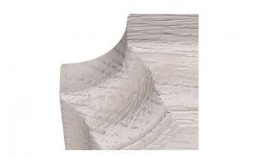 Бра Люберон основание квадрат белый ясень с серой патиной изображение 3