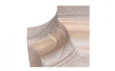 Бра Люберон основание прямоугольник белый ясень с золотой патиной изображение 3