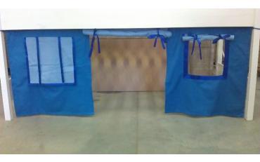 Шторы для кровати-чердака изображение 4