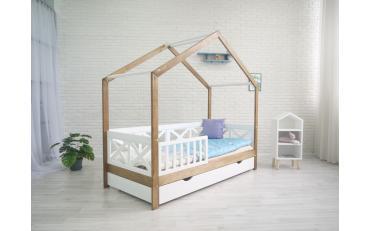 Кровать-домик Хома 9 Cross Wood