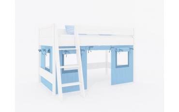 Шторы для кровати-чердака