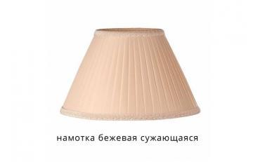 Лампа настольная Лаура бежевый дуб с коричневой патиной изображение 12