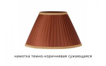 Лампа настольная Лаура бежевый дуб с коричневой патиной изображение 11