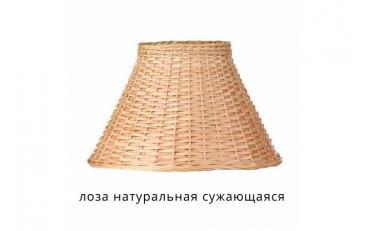 Лампа настольная Лаура бежевый дуб с коричневой патиной изображение 16