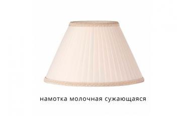 Лампа настольная Лаура бежевый дуб с коричневой патиной изображение 14