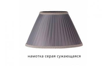 Лампа настольная Лаура бежевый дуб с коричневой патиной изображение 15