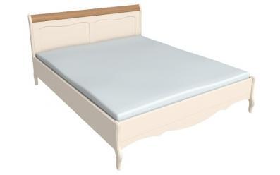 Кровать 160*200 Лебо (бежевый воск/антик) 60711