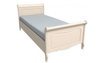 Кровать Лебо 90х200 (бежевый воск) 55710
