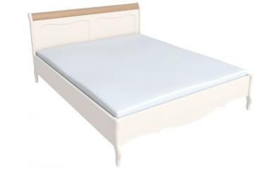 Кровать Лебо без изножья 180*200 (бежевый воск/антик) 60780