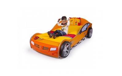 Кровать машина Formula (оранжевая)