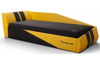 Диван-кровать Форсаж желтая (в наличии)