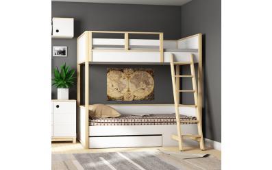 Набор мебели Робин Wood Лайт (кровать с лесенкой)