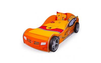 Кровать машина Champion (оранжевая)