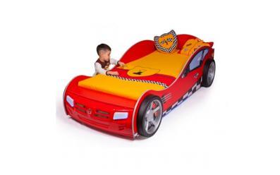 Кровать машина Formula (красная)