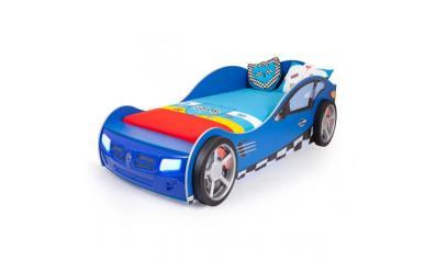 Кровать машина Formula (синяя)