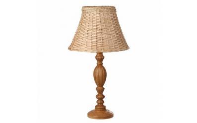 Лампа настольная Севенна дуб натур