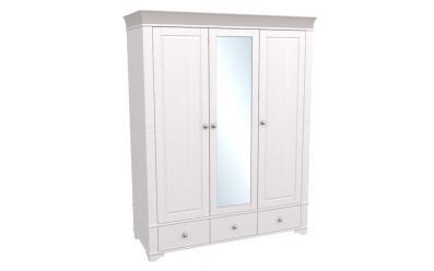 Шкаф 3-х дверный с зеркалом Бейли