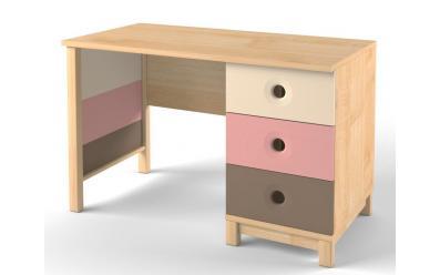 Стол с тумбой Робин Wood розовый