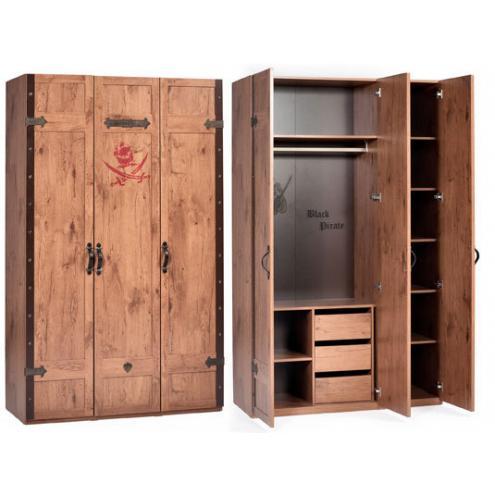 3-х дверный шкаф Pirate (1002)