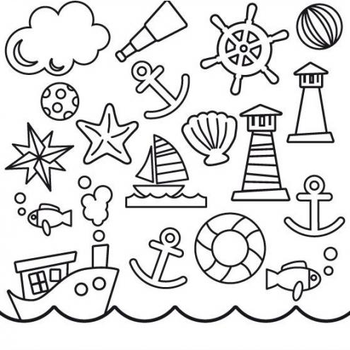 Накладка для фасада - Кораблики Young Users