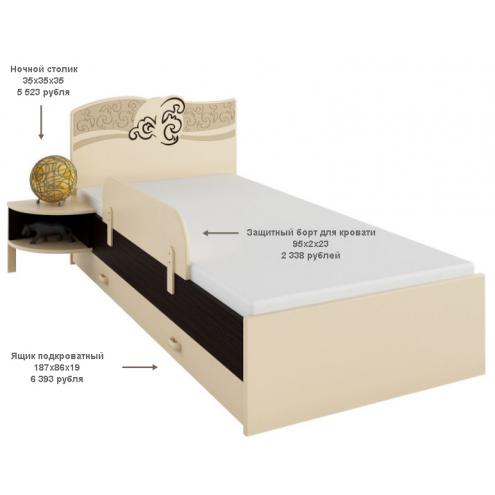 Кровать Карамель