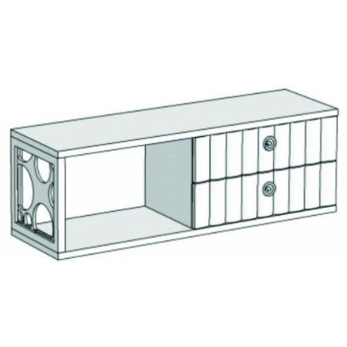 Горка 1-этажная с 2-мя ящиками VG1-80Q Velvet