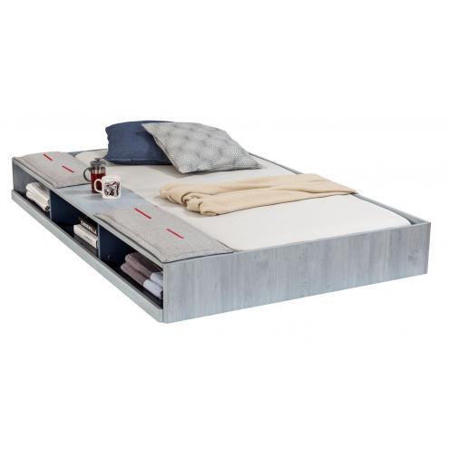 Кровать выдвижная с полочками Trio 90х190 (1305)
