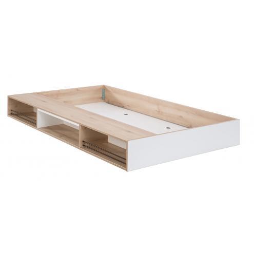 Кровать выдвижная с полочками Dynamic 90х190 (1305)