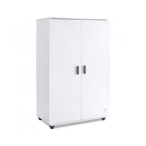 Шкаф 2-х дверный White Compact (1004)