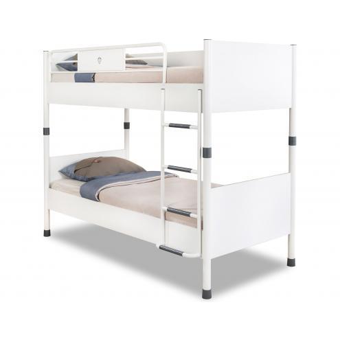 Кровать двухъярусная White 90х200 (1401)