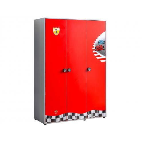 Шкаф 3-х дверный Racecup (1002)