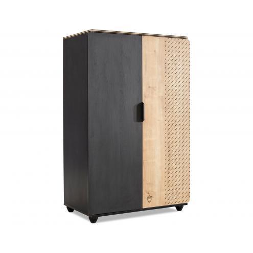 Шкаф 2-х дверный Black (1004)