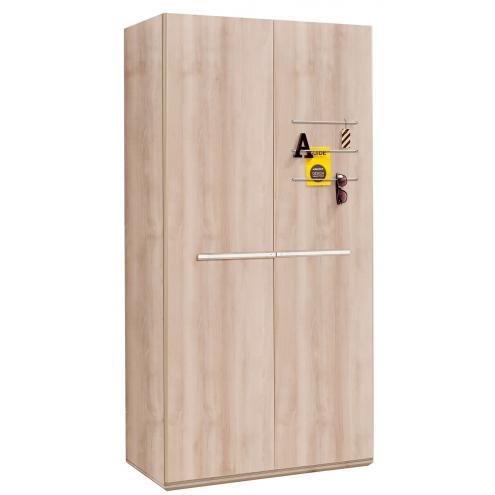 Шкаф 2-х дверный Duo (1001)
