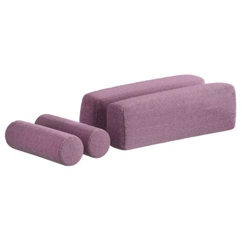 Подушки для кровати-дивана (3463) розовые